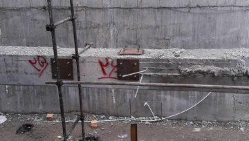 پروژه ایجاد راه پله فلزی_کاشت